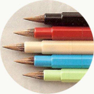 画像2: 鉛筆型小筆 ISHIN