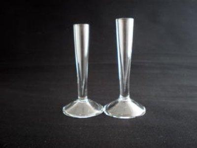 画像1: ガラス筆立 小