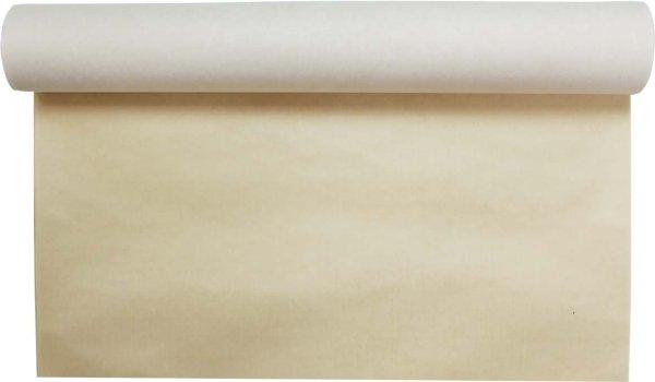 画像1: 絹本 茶70×136cm 1枚  (1)