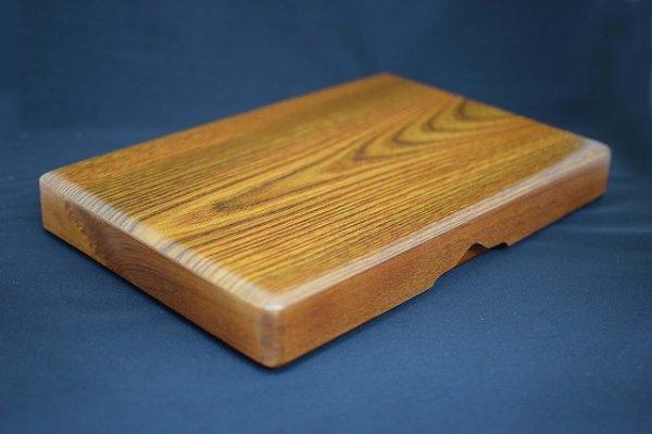 画像1: 硯箱 特大型 梅 (1)