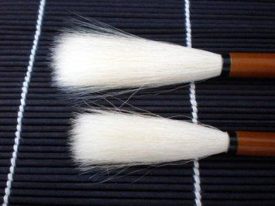 画像1: 高級羊毛筆 烏牛ugyu3号 久保田号 羊毛
